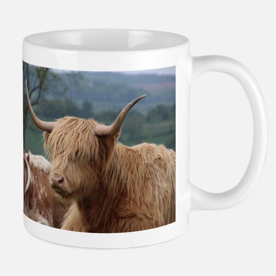 Highland cattle Mugs