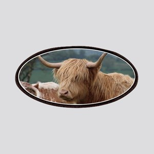 Highland cattle Patch