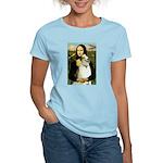 Mona & her Borzoi Women's Light T-Shirt