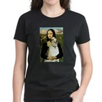Mona & her Borzoi Women's Dark T-Shirt