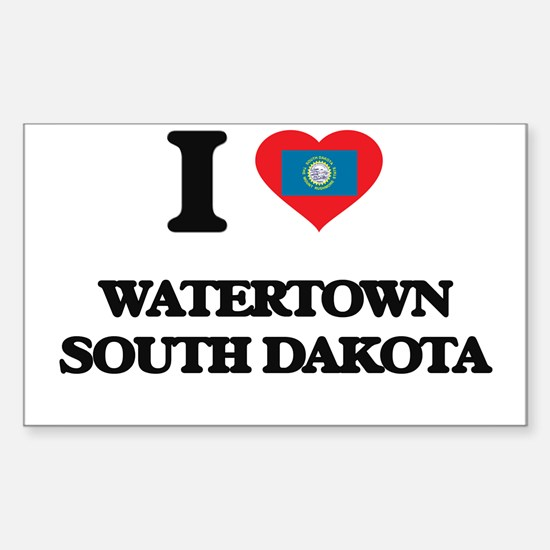I love Watertown South Dakota Decal