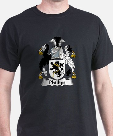 Phillips Family Crest T-Shirt