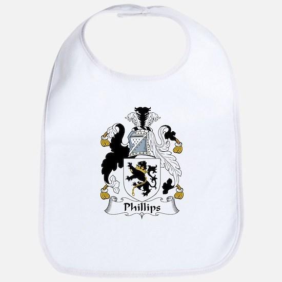 Phillips Family Crest Bib