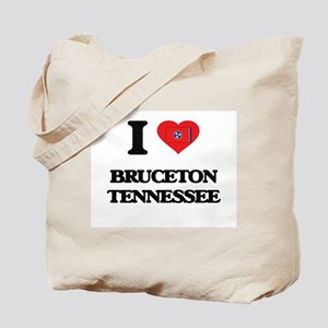 I love Bruceton Tennessee Tote Bag