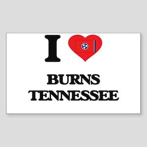 I love Burns Tennessee Sticker