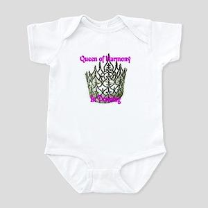 Queen of Harmony in training Infant Bodysuit
