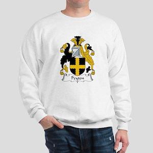 Peyton Family Crest  Sweatshirt