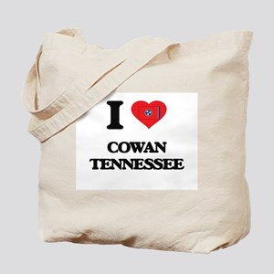 I love Cowan Tennessee Tote Bag