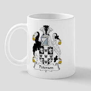 Peterson Family Crest Mug