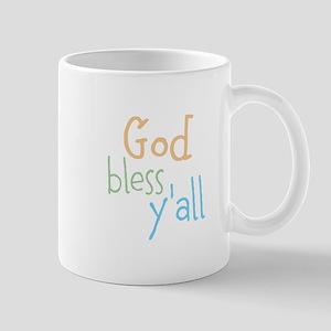 God Bless Yall Mugs