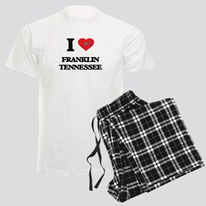 I love Franklin Tennessee Men's Light Pajamas