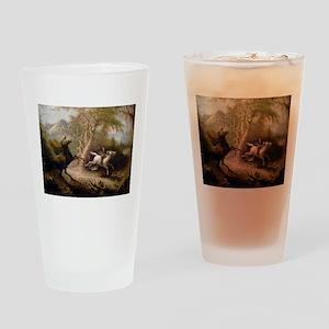 Vintage Art of Sleepy Hollow Drinking Glass