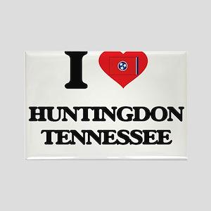 I love Huntingdon Tennessee Magnets