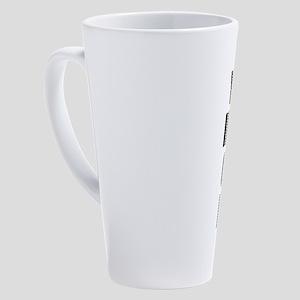 Personalized 17 Oz Latte Mug