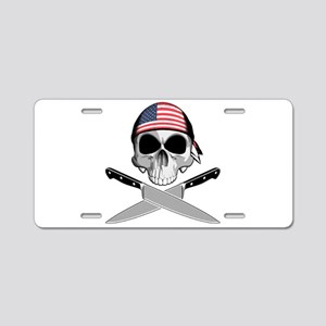 American Chef: Chef Knives Aluminum License Plate
