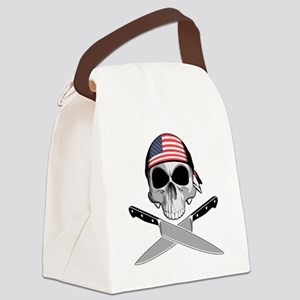 American Chef: Chef Knives Canvas Lunch Bag