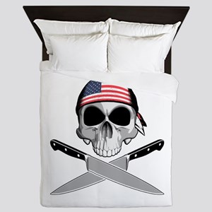 American Chef: Chef Knives Queen Duvet