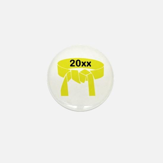Yellow Belt Mini Button