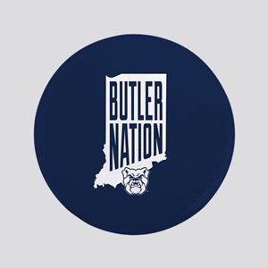"Butler Bulldogs Nation 3.5"" Button"