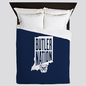 Butler Bulldogs Nation Queen Duvet