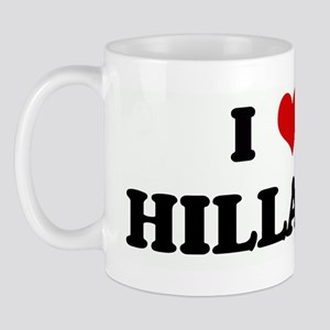 I Love HILLARY Mug