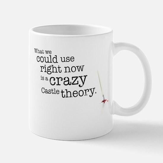 A crazy Castle theory Mugs