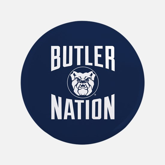 """Butler Bulldogs Nation 3.5"""" Button"""