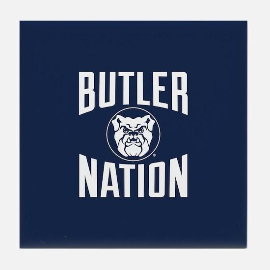 Butler Bulldogs Nation Tile Coaster