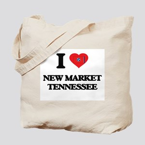 I love New Market Tennessee Tote Bag