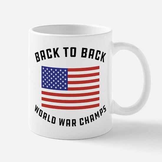 Back to Back World War Champs Mug