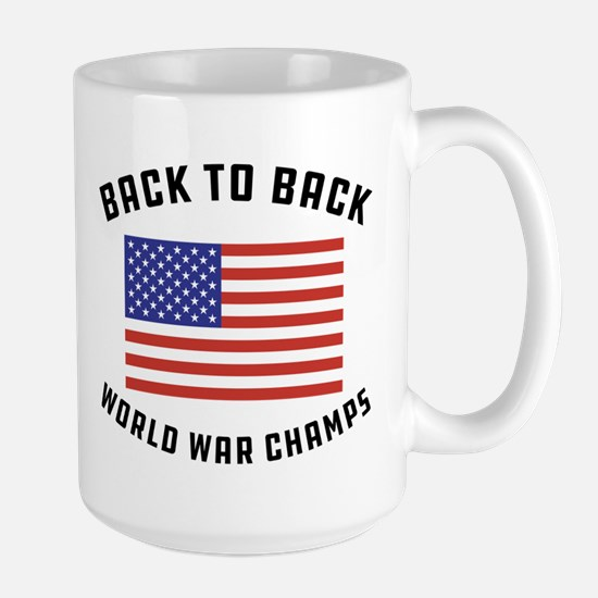 Back to Back World War Ch Mug
