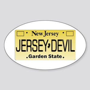 Jersey Devil NJ Tag Gifts Sticker