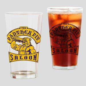 pantherpitsaloon Drinking Glass