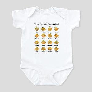 How do you feel today? I Infant Bodysuit