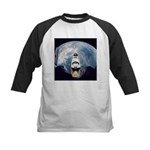 Earth and the space shuttle Kids Baseball Jersey