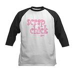 Scrap Chick Kids Baseball Jersey