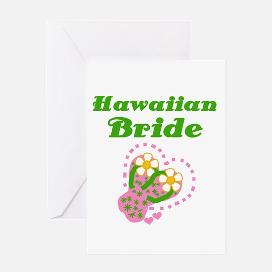 Hawaiian Bride Greeting Card