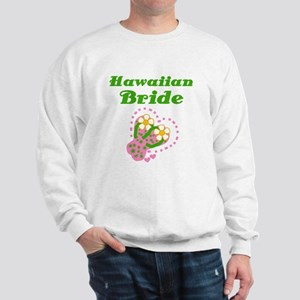 Hawaiian Bride Sweatshirt