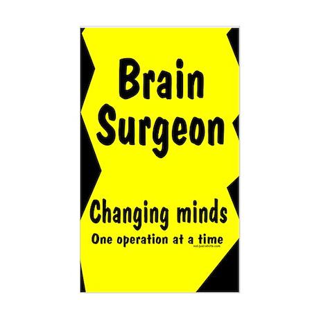 Brain Surgeon Rectangle Sticker