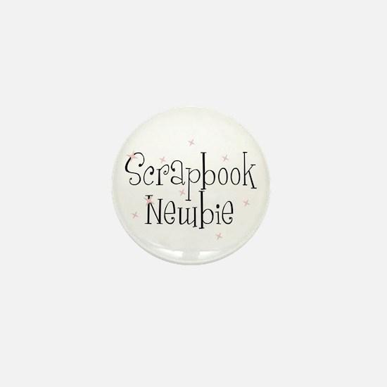 Scrapbook Newbie Mini Button