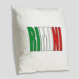 Rimini Burlap Throw Pillow