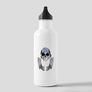 Greek Butcher Water Bottle