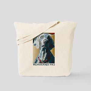 Weimaraner 1943 Tote Bag