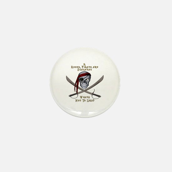 Rogue & Scalawag Mini Button