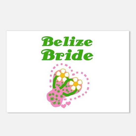 Belize Bride Postcards (Package of 8)