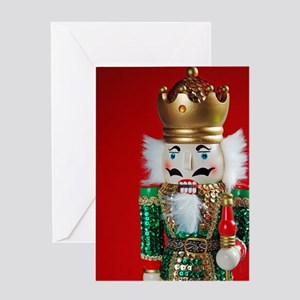 Christmas nutcracker Greeting Cards