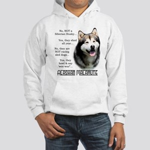 Malamute FAQ Hooded Sweatshirt