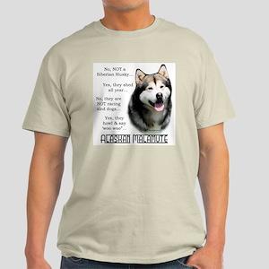 Malamute FAQ Light T-Shirt