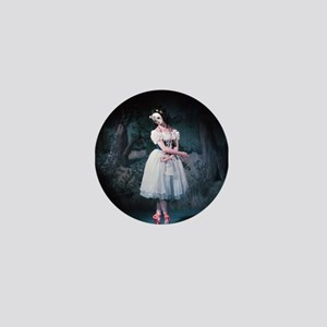The Red Shoes Mini Button