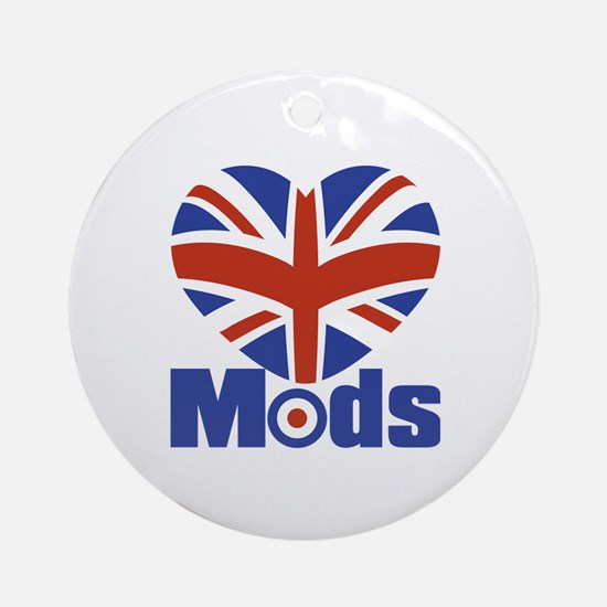 Mods Round Ornament